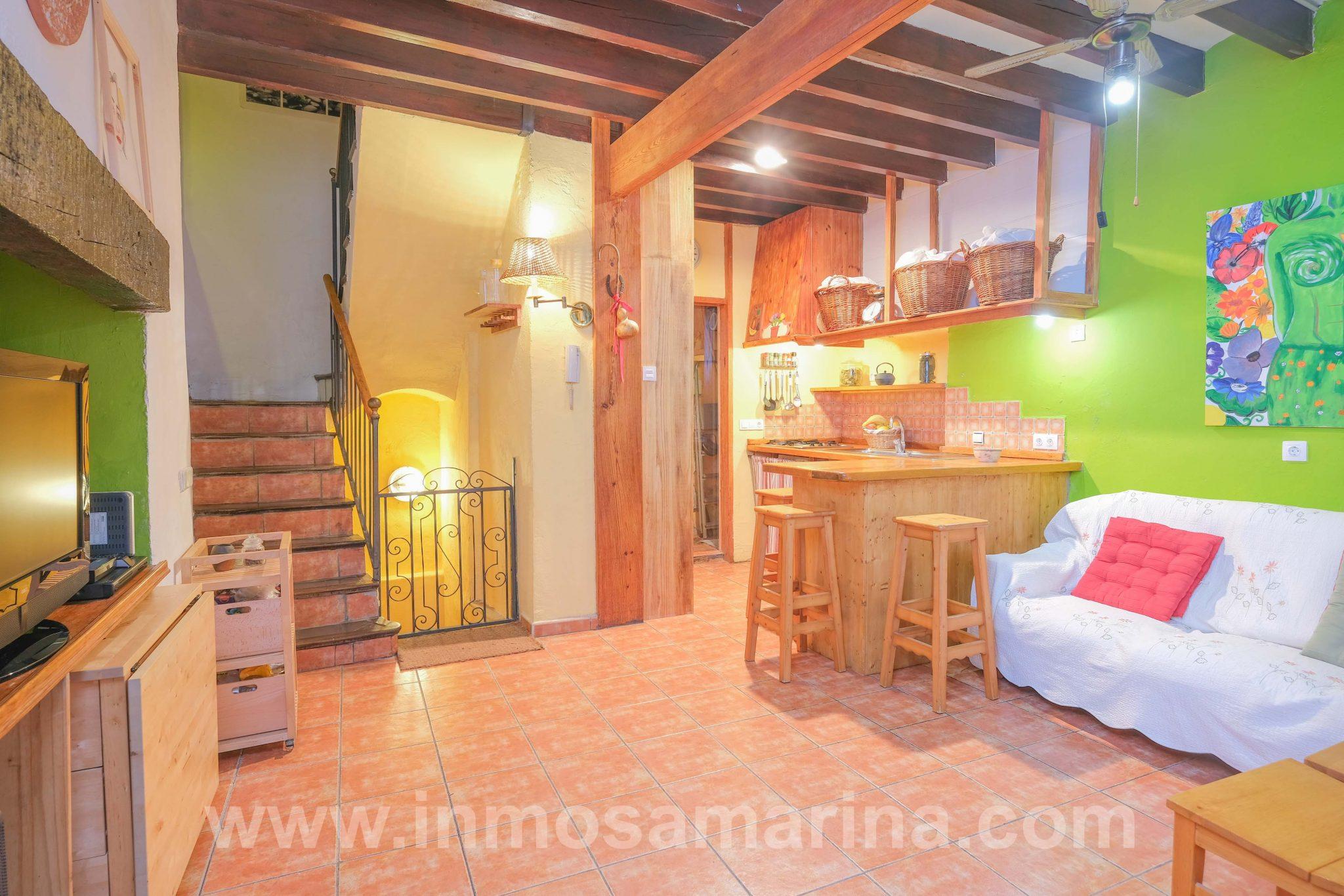 Casa A REFORMAR TEJADO A CAMBIO DE ALQUILER en el casco antiguo, Inca, Alquiler
