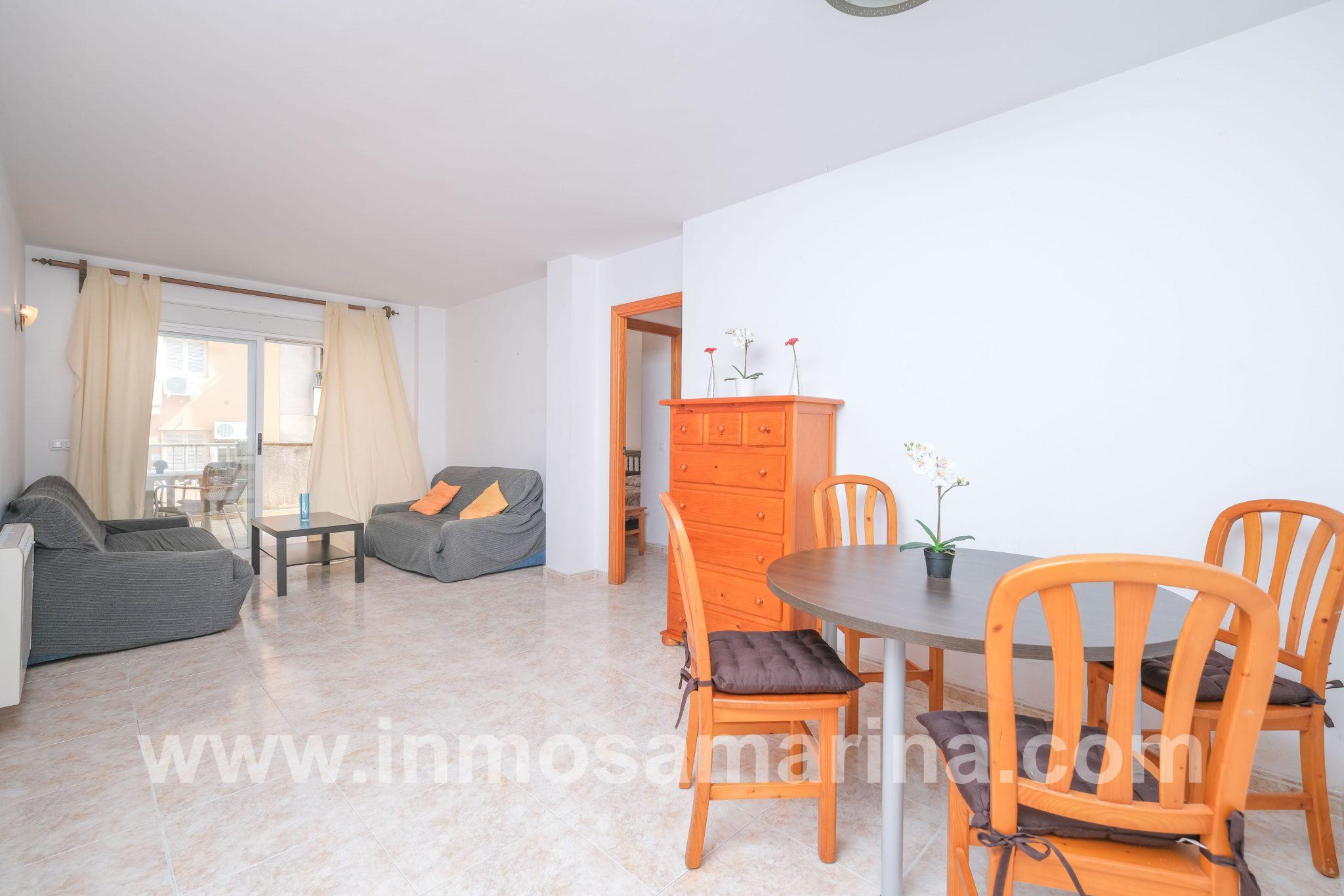 Excepcional piso con gran terraza, Puerto Alcudia, Venta