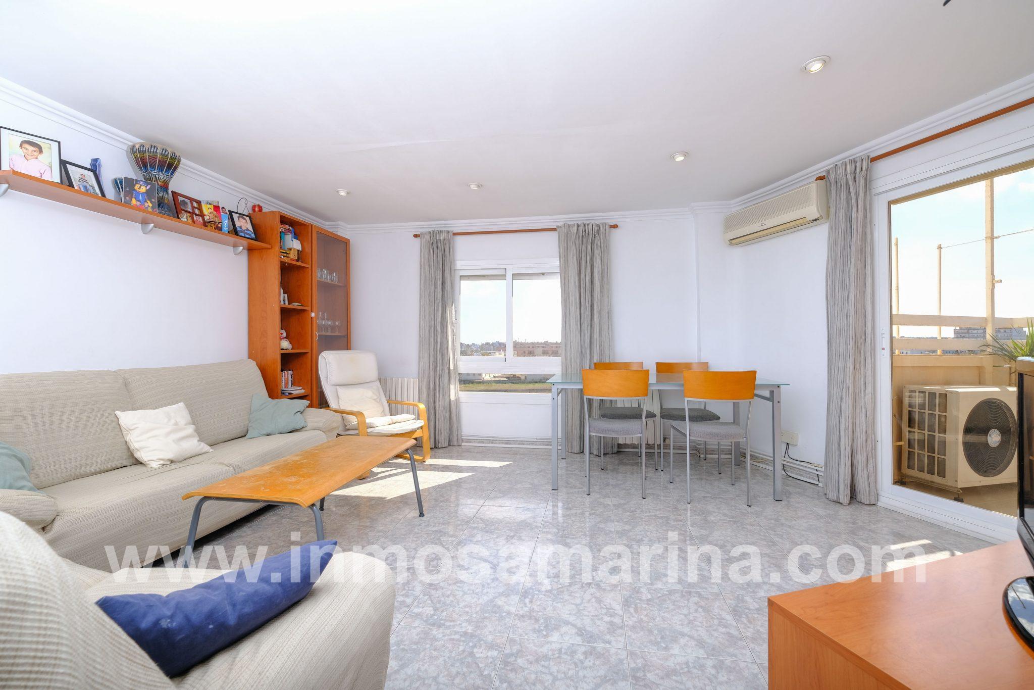 Amplio y luminoso piso 4 habitaciones, Palma
