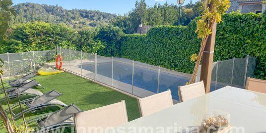 Precioso chalet con piscina a los pies de la Serra de Tramuntana