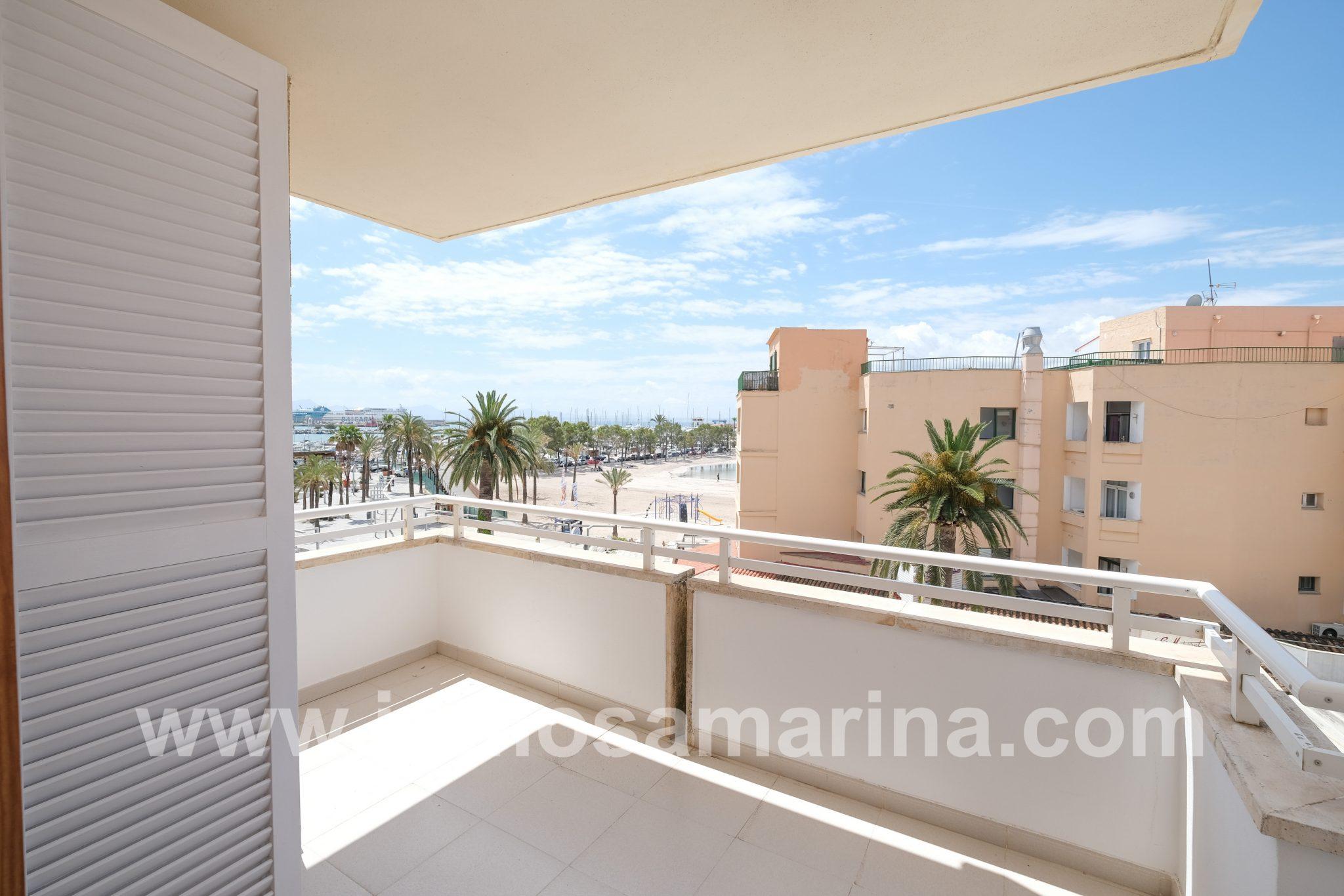Amplio piso a escasos metros de la playa, Alquiler, Pto Alcudia